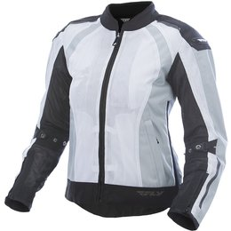 Fly Racing Womens Street CoolPro Mesh Jacket White