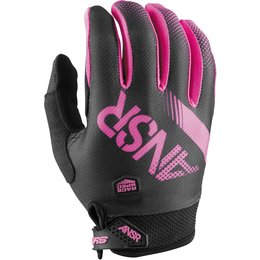 Answer Womens Sycron Textile Motocross MX Riding Gloves Original Style Black