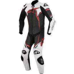 Alpinestars Mens GP Plus 1 Piece Armored Leather Suit Black