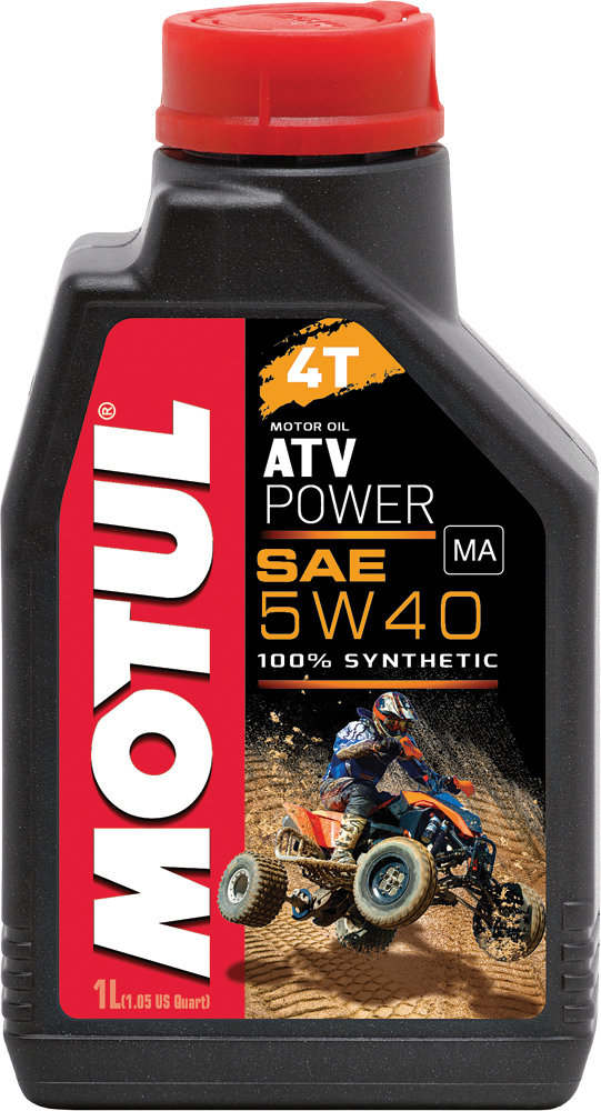 Motul Atv Power Line 4t 100 Synthetic Engine Oil