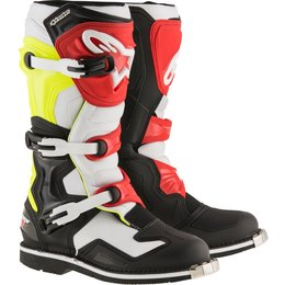 Alpinestars Mens Tech 1 MX Motocross Offroad CE Riding Boots Black