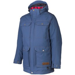 Klim Mens Tundra Gore-Tex Insulated Textile Snowmobile Parka Blue