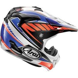 Arai VX-Pro4 Spike MX Motocross Offroad Helmet With Visor Blue