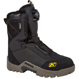Klim Mens Arctic GTX Boa Gore-Tex Insulated Snow Boots Black