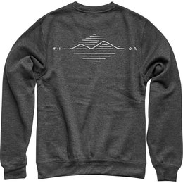 Thor Mens Suggestive Crew Neck Pullover Sweatshirt Grey
