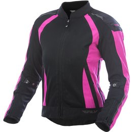 Fly Racing Womens Street CoolPro Mesh Jacket Pink, Black