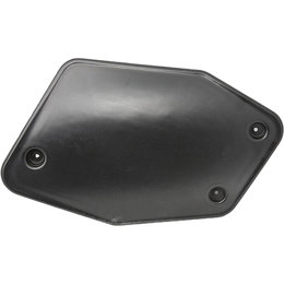 ROX Snowmobile Universal Rear Number Plate Pair 1RNP-N/BU Black