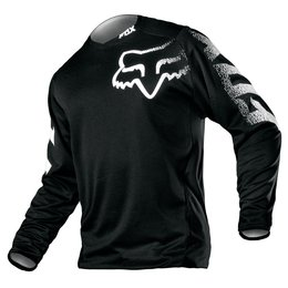 Fox Racing Youth Boys Blackout Jersey 2015 Black