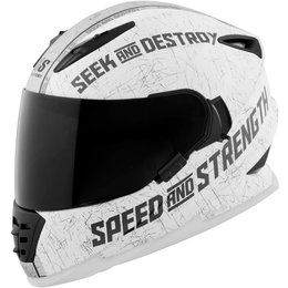 Speed & Strength SS1600 Cruise Missile Full Face Helmet LS White