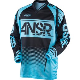 Answer Mens Syncron MX Motocross Riding Jersey New Style March Blue