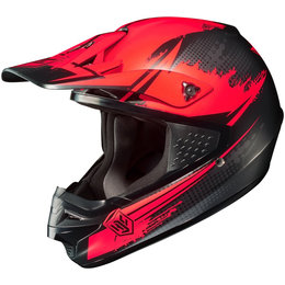 Flat Red Hjc Cs-mx Csmx Second Phase Helmet