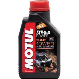 Motul ATV/SXS Power Line 4T 100% Synthetic Engine Oil 10W50 1 Liter