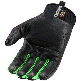 Icon Mens Anthem Primary Touchscreen Textile Gloves Black