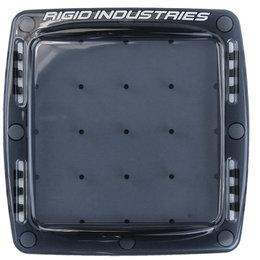 Rigid ATV Q-Series Polycarbonate Plastic Light Protective Cover Smoke 10398 Grey
