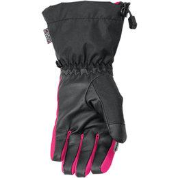 Arctiva Womens Pivot Insulated Waterproof Snow Gloves Black
