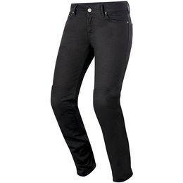 Alpinestars Womens Stella Daisy Armored Denim Riding Pants Black