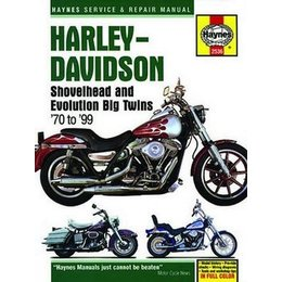 Haynes Repair Manual For Harley Big Twin 70-99