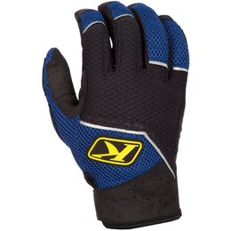 Klim Mens Mojave E-Touch Breathable Textile Gloves Blue