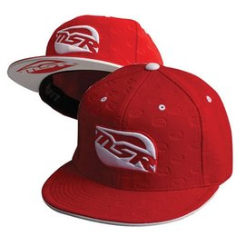Red, White Msr Youth Team Fitted Hat Red White One Size