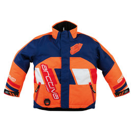 Arctiva Youth Boys Comp Insulated Snowmobile Jacket Orange