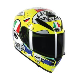 AGV K-3 SV Groovy Full Face Helmet Yellow
