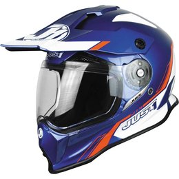 Just1 J14 J-14 DS Line Dual Sport Adventure Helmet Blue