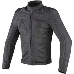 Dainese Mens Hyper Flux D-Dry Armored Textile Jacket Black