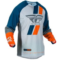 Fly Racing Mens Evolution DST Jersey Blue