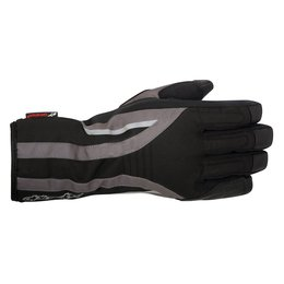 Black Alpinestars Womens Stella Oslo Drystar Textile Gloves 2015
