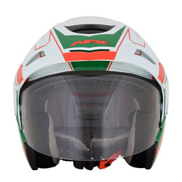 AFX FX-50 FX50 Signal Open Face Helmet White
