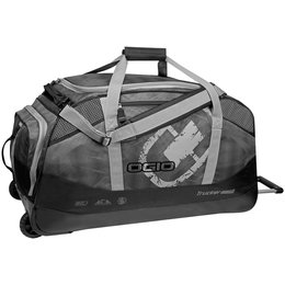 Black Ogio Trucker 8800 Limited Edition Wheeled Gear Bag One Size