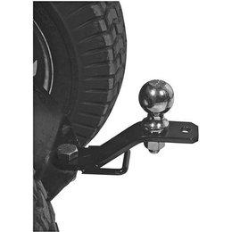 Black Quadboss 3-way Hitch Adapter Ball Pin Hitch Tow Strap
