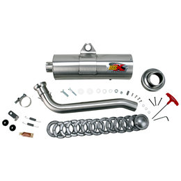 Supertrapp IDSX Exhaust System Stainless Steel For Yamaha Grizzly 700 07-09
