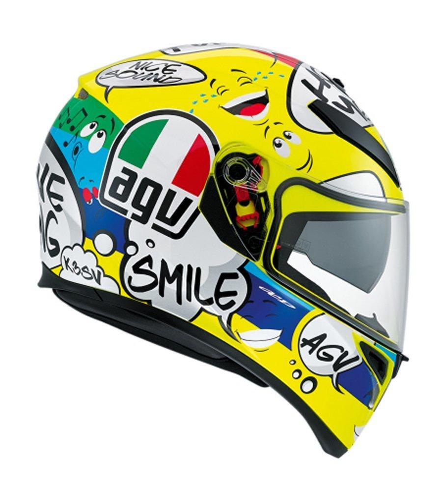 Sportbike Riding Boots >> $249.95 AGV K-3 SV Groovy Full Face Helmet #996052