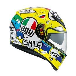 AGV K-3 SV Groovy Full Face Helmet Yellow