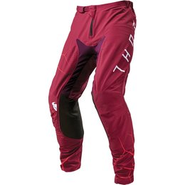 Thor Mens Prime Pro Infection Pants Red