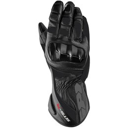 Spidi Sport Mens STS-R Leather Gloves Black
