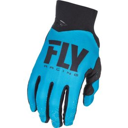 Fly Racing Youth Pro Lite Race Gloves Blue