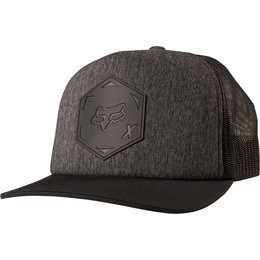 Fox Racing Mens Confeshion Adjustable Snapback Hat Black
