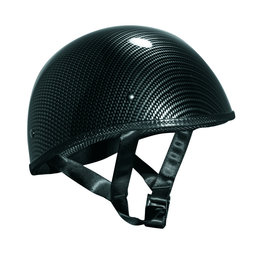 Carbon Fiber Graphic Vega Mens Xts Naked Half Helmet 2013