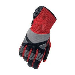 Cortech GX Air Leather Mesh Gloves Red