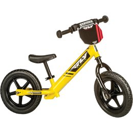 Yellow Strider Bikes Youth 12 Fly Racing Balance Bike