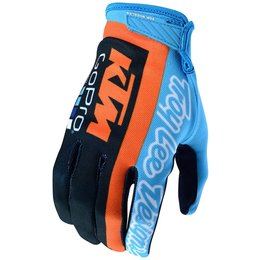 Troy Lee Designs Mens AIR Team TLD KTM Ventilated MX Motocross Riding Gloves Blue