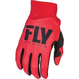 Fly Racing Youth Pro Lite Race Gloves Red