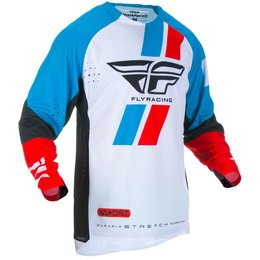 Fly Racing Mens Evolution DST Jersey Red