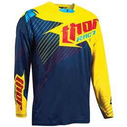 Thor Mens Limited Edition Core Hux MX Motocross Jersey Blue