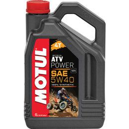 Motul ATV Power Line 4T 100% Synthetic Engine Oil 5W40 4 Liter