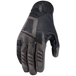 Icon Mens Wireform Touchscreen Textile Gloves Black