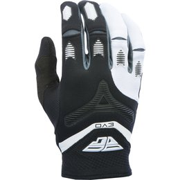 Fly Racing Youth Boys Evolution Gloves Black, White
