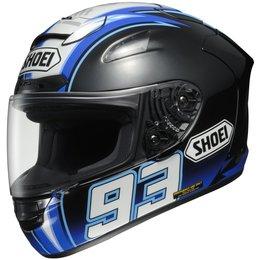 Blue Shoei Mens X-twelve X-12 X12 Montmelo Marquez Replica Helmet 2013